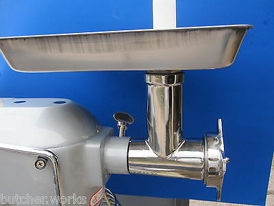 Ss Meat Grinder Attachment For Size 12 Hobart Mixer A200 A120 D300 D330 H600
