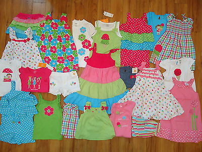 NWT NEW Gymboree Spring Summer Wholesale Girls 3 Outfits LOT 2T 3T 3 4T 4 FS on Rummage