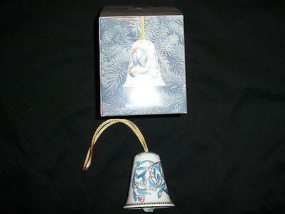 2003 Lladro Christmas Traditional Sounds Bell Ornament- Original Box 01008077