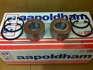 VAUXHALL CORSA C 2000-2006 1.0 1.2 1.3 1.6 1.8 2X NEW FRONT WHEEL BEARING KITS