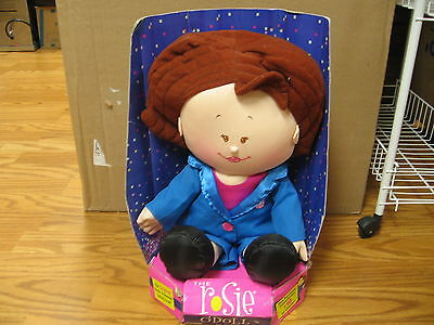 17 Plush Talking, Rosie O'donnell Doll, New, Needs Battery