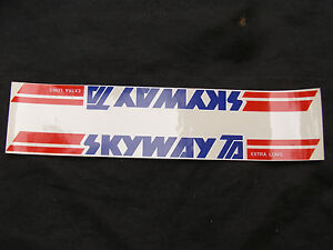 SKYWAY-TA-DECALS-BMX-BICYCLE-RACING-RARE-STICKERS-NOS-T-A