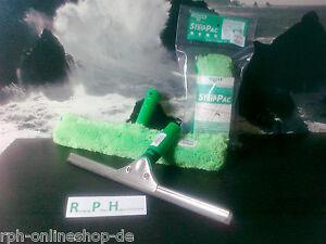 UNGER SET Profi- Abzieher+Einwascher 35 cm mit Mikrofaser-Bezug Fenster-Wischer