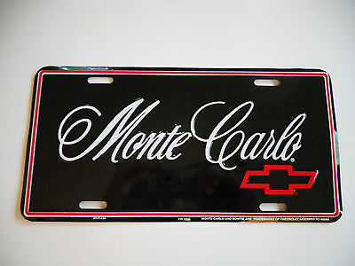 Monte Carlo Front Plate