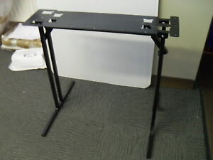 Pair of caravan or motorhome 650mm folding free standing table legs FSTD1