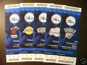 Philadelphia-76ers-2012-NBA-ticket-stubs-One-ticket