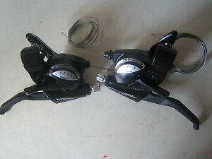 Shimano-Tourney-18-speed-6-3-speed-cycle-bike-brake-levers-gear-shifters