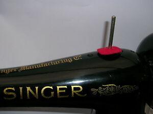 VINTAGE SINGER SEWING MACHINE COTTON REEL SPOOL PIN 99K/66K/15K/201K/128K/127K | eBay