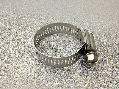 Breeze 16 All Stainless Steel Hose Clamp 10 Pcs 63016