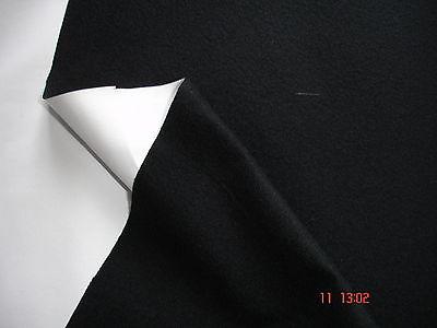 1 Lfm Outdoorstoff 4,00€/m² Membranstoff wetterfest Windbreaker schwarz LC20