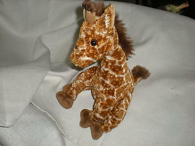 Koala Baby Tan Brown 11 Sitting Plush Giraffe Lovey