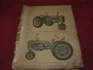 International-Harvester-Super-C-Tractor-Dealers-Parts-Book