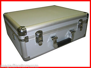Multi-Purpose-Aluminum-Camera-Carry-Case-Tool-and-Equipment-Silver-CANADA-n-USA