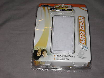 Iconcepts Ipod Nano Case Mp3 Gear Durable White Music Songs