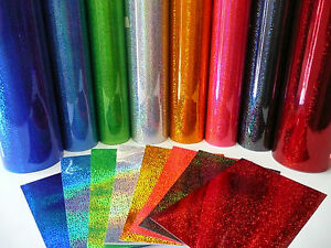 Specialist Foil Glitter 610mm X 1m Self Adhesive Sticky
