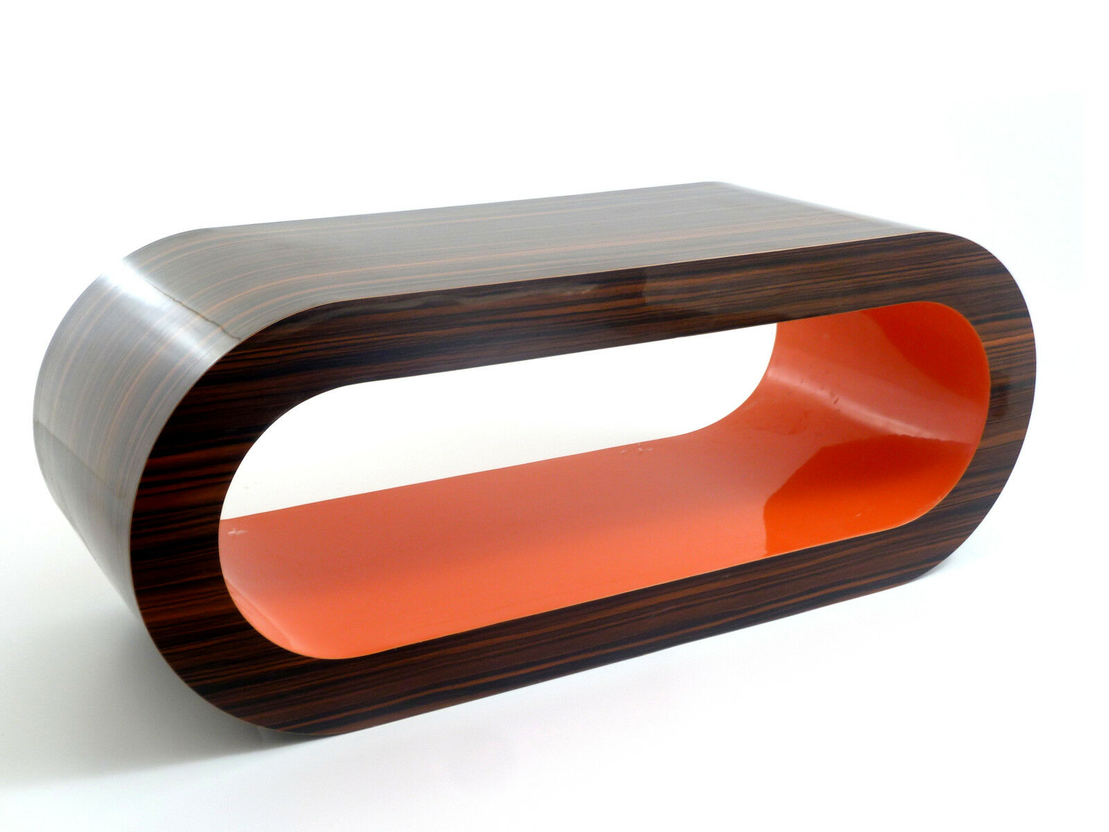 Bespoke designer wooden coffee table medium 90cm modern for Contemporary oval coffee tables