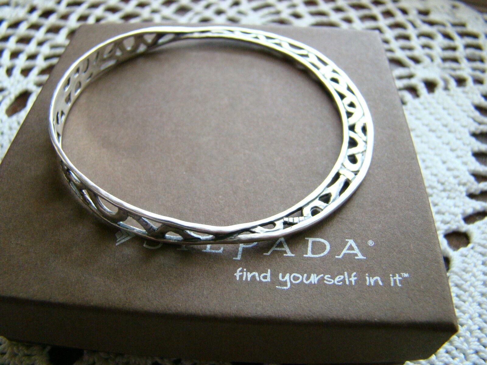Silpada Sterling Silver del Mar Bangle Bracelet B2783 $119
