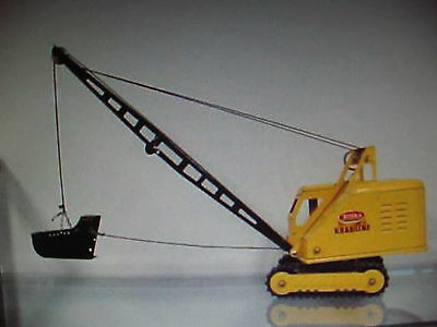 Cord For Tonka Toy Crane, Drag Line, Clam String, Fits All Cranes,rig Your Crane