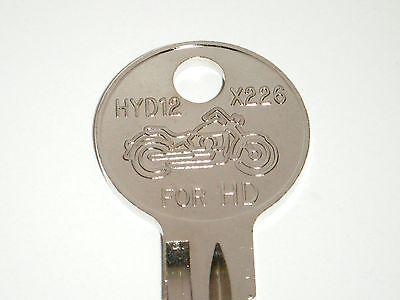 Harley Davidson Sportster Key Blank (hd) 1989 1990 1991 1992 1993 1994 1995