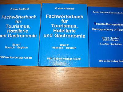 Stadtfeld : Fachwörterbuch für Tourismus, Hotellerie.. + Touristik-Korrespondenz