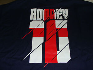 Team-England-Euro-Cup-2012-Wayne-Rooney-M-Name-Number-Soccer-T-Shirt-European