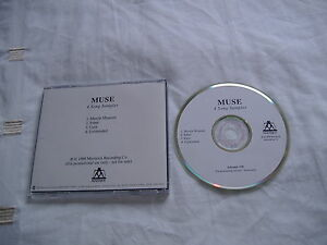 MUSE-4-SONG-SAMPLER-AMERICAN-PROMO-CD-EXCELLENT-CONDITION-VERY-RARE