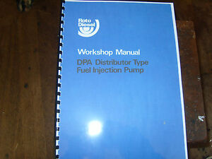 Cav-DPA-Distributer-Type-fuel-injection-pump-Workshop-Manual
