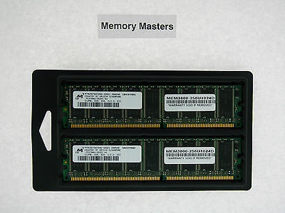 Mem3800-256u1024d 1gb Approved (2x512mb) Memory For Cisco 3800