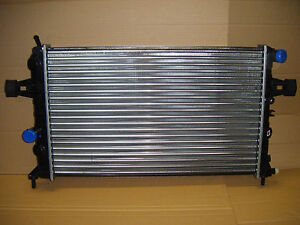 VAUXHALL ASTRA/ZAFIRA MANUAL RADIATOR NEW FOR VEHICLES WITH AIR CON