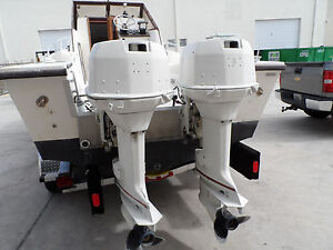 1989 115 Hp 115hp Johnson Evinrude Outboard Motors 115hp