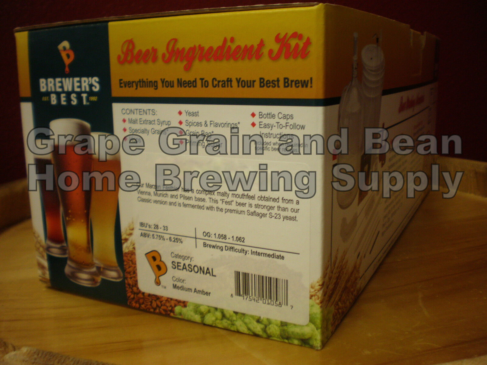 $48.50 - Brewers Best Yellin Melon Extra Pale Beer Kit, Beer Making Kit