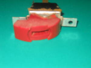Craftsman Table or Radial arm saw Switch RED Mounting holes 2