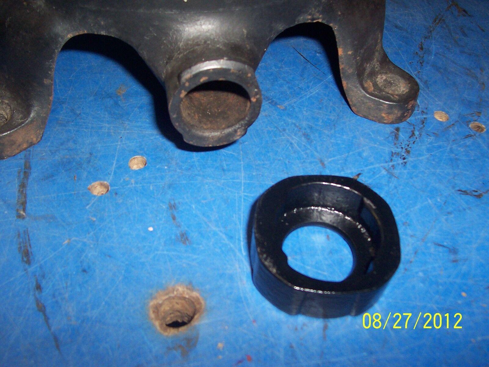 Enterprise Sausage Stuffer Lard Press Nut Spout Holder