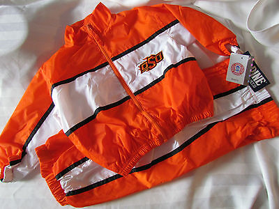 Oklahoma State Cowboys Baby 24 Months Mo Wind Jogging Suit Jacket Pants Set