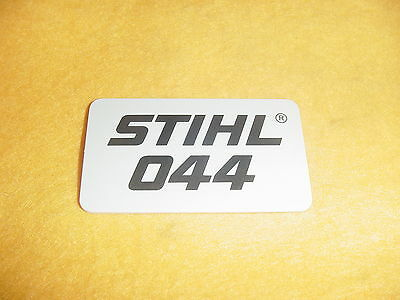 new oem stihl model name plate tag emblem badge 044 o 44 chainsaw Tools and Accessories