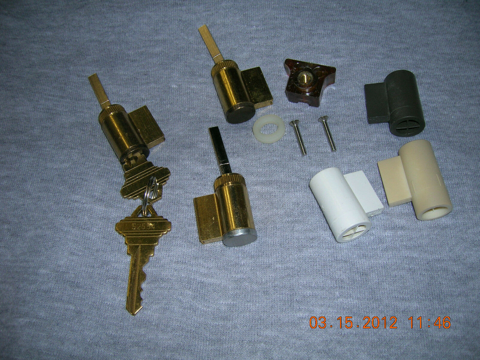 ((pella)) Keyed Lock Cylinders-door Parts-accessories-hardware
