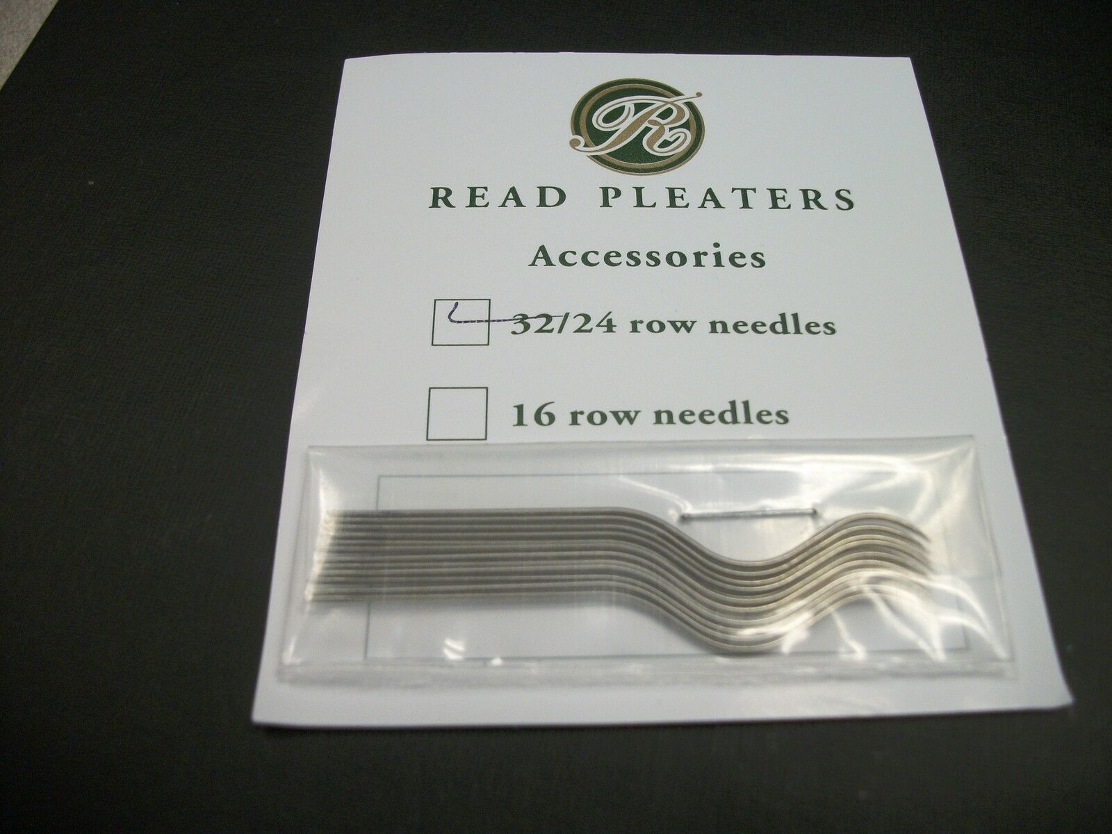 Read Smocking Pleater Needles Pkg Of 12 For A 32/24 Row Pleater