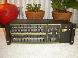 EV-Tapco-2200-2-Channel-10-Band-Graphic-Equalizer-Eq-Vintage-Rack