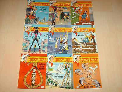 Comics 9 Lucky Luke Bände Band 80, 81, 82, 83, 84, 85 , 86, 87 und 88 1A!!!