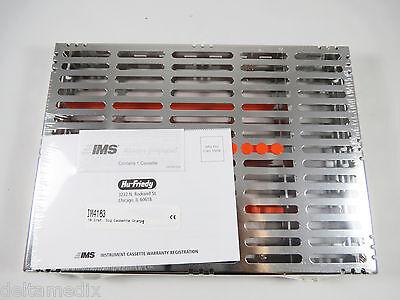 Large Signature Series 16 Instrument Cassette W Accessory Area Orange Im4163