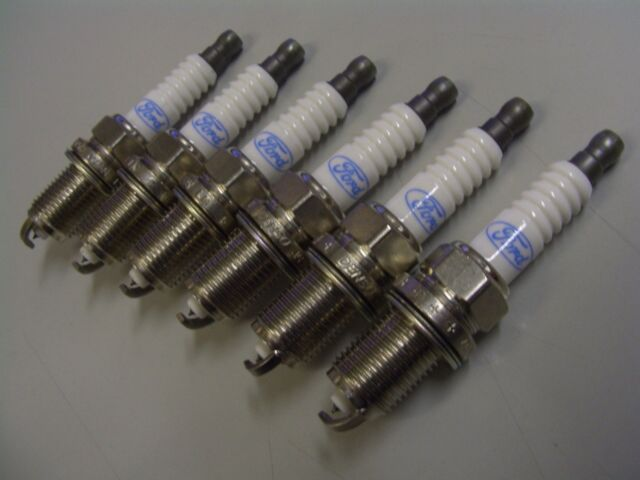 FORD SX TERRITORY 4.0 LITRE SPARK PLUGS GENUINE FORD 02/04 TO 09/05 ONLY