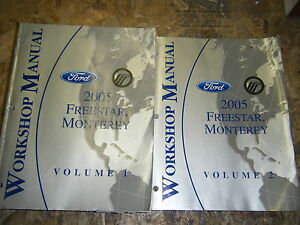 2005-FORD-FREESTAR-MERCURY-MONTEREY-FACTORY-WORKSHOP-MANUALS-SERVICE-SHOP-REPAIR