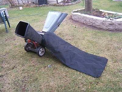 Wood Leaf Chipper Shredder Collection Bag  24x48 Craftsman  MTD (BAG ONLY)