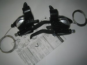 Shimano-Tourney-7-3-21-speed-cycle-bike-brake-levers-gear-shifters-STEF40