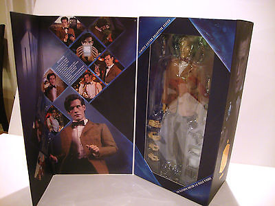 "DR. WHO ""11TH DOCTOR"" MATT SMITH  1/6 SCALE FIGURE WITH MAIL AWAY BOX on Rummage"