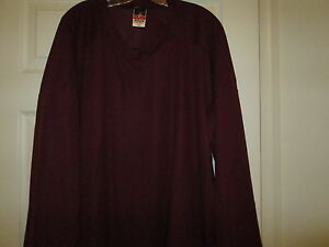 Alleson-Athletic-Team-Practice-Burgundy-Hockey-Jersey-New-Mens-2XL