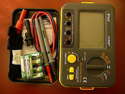 VC60B+ Digital Insulation Resistance Tester Megger MegOhm Meter USA Seller on Rummage