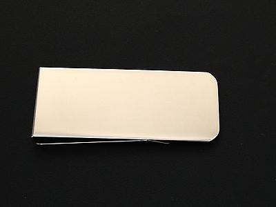 Engraved Money Clip (Stainless Steel Money Clip, Engraved Free, New In)