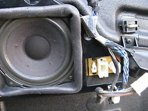 bmw e38 740il speaker front right 1995 96 97 98 1999 2000. Black Bedroom Furniture Sets. Home Design Ideas