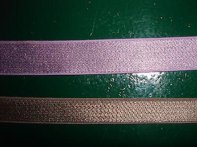 elastisches Band 0,25/m hellbraun 10 Meter MB71